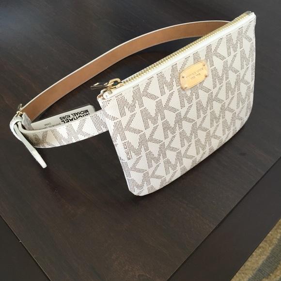 7822800c53aaaa MICHAEL Michael Kors Bags | Michael Kors Wallet Belt Size M | Poshmark